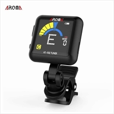 AROMA AT-102 Rechargeable Rotatable Clip-on Electronic Tuner Color Screen with