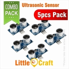 HC-SR04 Ultrasonic Sensor Distance Measuring Module - 5pcs Pack