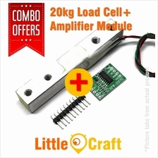 20kg Load Cell + Amplifier HX711 Module Combo