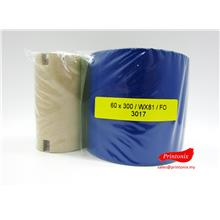 Wax Barcode Ribbon 60MM X 300M