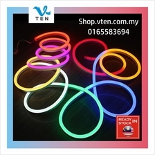 240V 16mm 1Meter Round Running RGB Colorful Neon LED Strip Decoration