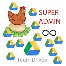 Team Drives Super Admin - Unlimited number, Unlimited Storage