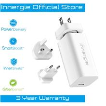 Innergie PowerGear 60C USB-C PD3.0 Ultra Compact Mobile Laptop Adapter)