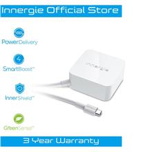 Innergie USB-C Fast Charge Power Delivery QC3.0 Mobile Laptop Adapter)