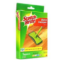 3M Scotch-Brite Quick Sweeper Refill Microfiber Cloth (1pcs)