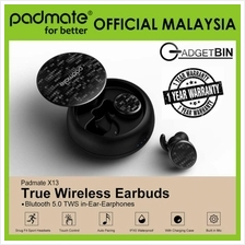 Padmate X13-PAMU Water-Resistant Never Fall Out TWS Earbuds Earphones