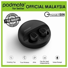 Padmate X12 TWS Bluetooth Sweatproof Wireless Earbuds Earphones