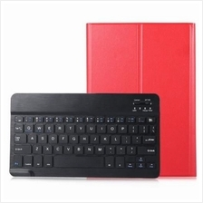 LEATHER REMOVABLE WIRELESS BLUETOOTH KEYBOARD MAGNETIC STAND FOLIO PROTECTIVE