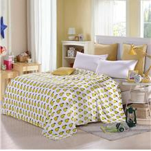 Flannel Polar-fleece Blanket of High Quality Polyester Fiber Soft and Warm 200