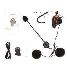 WT003 1000m Motorcycle Helmet Bluetooth Wireless Walkie Talkie