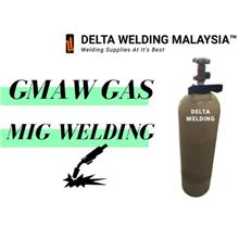 1 SET CO2 REGULATOR + 10 LITRE CO2 GAS MALAYSIA WELDING MIG