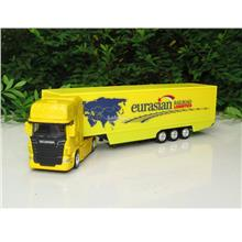 Welly 1/87 SCANIA V8 R730 Trucks Trailer eurasian Rail road Logistic