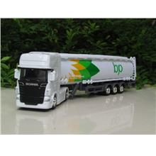 Welly 1/87 SCANIA V8 R730 OIL TANKER TRUCKS (BP)
