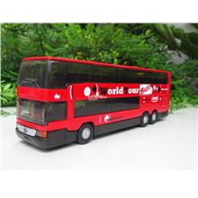 Welly 1/64 Diecast Super Coach Mercedes Benz MB0404 DD (Red)