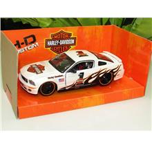Maisto 1/24 Harley Davidson 2006 Ford Mustang GT #1 (White)