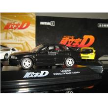 Yodel 1/72 Diecast INITIAL D Mitsubishi Lancer Evolution III (CE9A)6cm