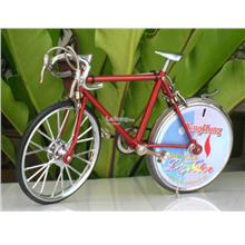 Novelty Table Lighter Trendy Bicycle Lighter Shape (Red) 18cm