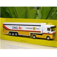 New Ray 1/87 Renault F1 Team ING Tractor Trailer Truck Transport