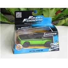 Jada 1/32 Letty's Dodge Challenger SRT8 (Fast & Furious) (Green)
