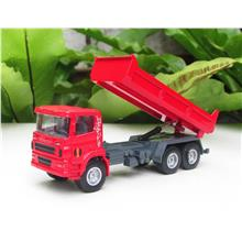 HY Truck 1/60 Diecast Tipper / Dumper Construction Vehicle RED (13cm)