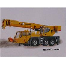 HY Truck 1/50 Diecast Mobile Crane Truck Construction Vehicle