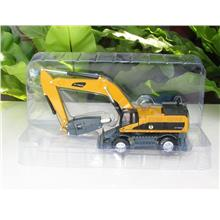 HY Truck 1/50 Diecast Hammer / Breaker Excavator Construction Vehicle