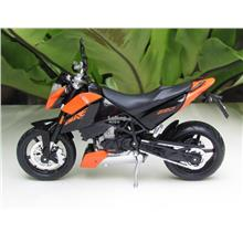 Maisto 1/12 Diecast Motorcycle KTM 690 Duke ORANGE