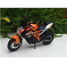 Maisto 1/12 Diecast Motorcycle KTM 1290 Super Duke R Orange