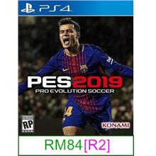 PS4 PES 2019 [R2] ★Brand New & Sealed★