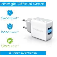 Innergie PowerJoy Plus 17 Dual USB Wall Charger (17W)