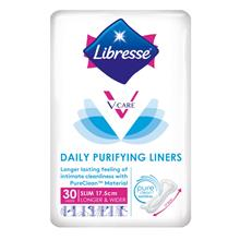 LIBRESSE V Care Daily Purifying Liners 175cm 30s)