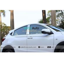 Honda HR-V / HRV / Vezel (1st Gen) Window Chrome Lining + Door Pillar