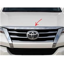 Toyota Fortuner (2nd Gen) Front Bonnet Chrome Bar