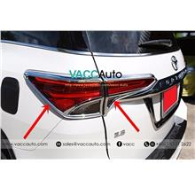 Toyota Fortuner (2nd Gen) Tail Lamp Chrome Lining