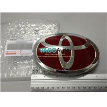 Toyota Fortuner (2nd Gen) Red Emblem