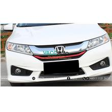 New Honda City (6th Gen) Front Grill Red Lining