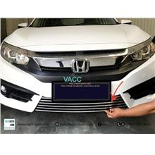 Honda Civic (10th Gen) Lower Aluminium Grill