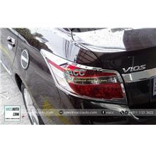 Toyota Vios (3rd Gen) Tail Lamp Chrome Cover