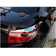 Toyota Vios (3rd Gen) Tail Lamp Chrome Eyelid
