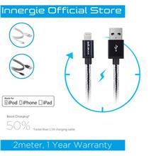 Innergie MagiCable USB to Lightning Braided Charging and Sync Cable 2m