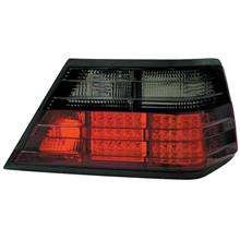 DEPO Mercedes BENZ W124 86-95 LED Tail Lamp Crystal Smoke/Red