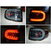 Toyota FJ Cruiser '07-11 Tail Lamp Crystal LED Smoke