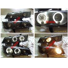 Honda Accord SV4 '94-97 LED Ring Projector Head Lamp Crystal