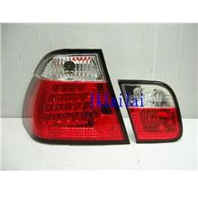 SONAR BMW E46 4Door '01-02 LED Tail Lamp [Clear Red/Smoke Red]