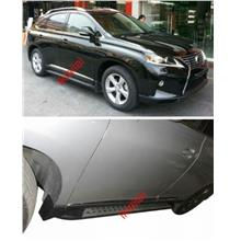 Toyota Harrier '09 / Lexus RX350 OEM Running Board / Side Step 2pcs/se