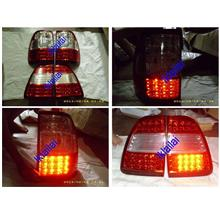 DEPO Toyota 98-06 Landcruiser FJ100 Tail Lamp Crystal LED Red/Clear