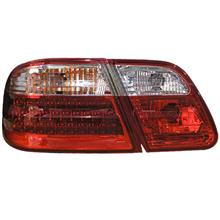 Mercedes W210 '98-02 Tail Lamp Crystal LED Clear/Red [W210-RL04-U]