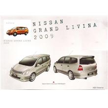 Nissan Grand Livina '07-10 Impul 1 Style Full Set Body Kit ABS