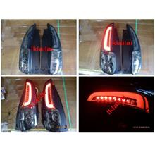 Perodua Myvi '11 / Myvi Icon C Style LED Light Bar Tail Lamp [Smoke]