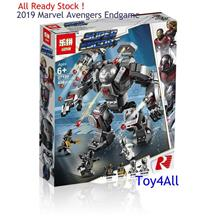 MARVEL AVENGERS ENDGAME 76124 WAR MACHINE BUSTER LEGO COMPATIBLE BRICK